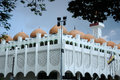 Perak state mosque in ipoh perak malaysia – december on december it is landmark of town this mosque's uniqueness Stock Photos