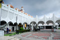Perak state mosque in ipoh perak malaysia – december on december it is landmark of town this mosque's uniqueness Royalty Free Stock Images