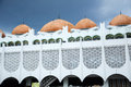 Perak state mosque in ipoh perak malaysia – december on december it is landmark of town this mosque's uniqueness Royalty Free Stock Photography