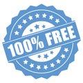 100 percent free Royalty Free Stock Photo