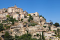 Perched village of gordes in the luberon provence france Royalty Free Stock Image