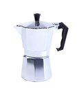 Percolator coffee with the lid closed on a white background Royalty Free Stock Photos