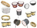 Percussion instruments Royalty Free Stock Photo