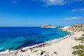 Perdikas Potami in Karpathos, Greece Royalty Free Stock Photo