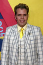 Perez hilton arriving at the video music awards on mtv at paramount studios in los angeles ca on september Stock Images