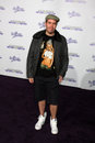 Perez hilton los angeles feb arrives at the never say never premiere at nokia theater on february in los angeles ca Royalty Free Stock Image