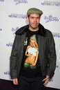 Perez hilton los angeles feb arrives at the never say never premiere at nokia theater on february in los angeles ca Royalty Free Stock Photo