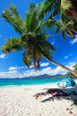 Perfect beach in Seychelles Royalty Free Stock Photo