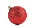 Perfect christmas ball. Royalty Free Stock Photo
