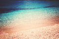 Perfect clear blue sea, texture, transparent water, copyspace Royalty Free Stock Photo