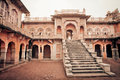 Perfect example of blending of Islamic and Hindu temple architecture in India Royalty Free Stock Photo