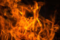 Perfect fire background Royalty Free Stock Photo