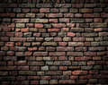Perfect grunge brick wall background this high quality image represents Stock Image