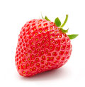 Perfect red ripe strawberry isolated Royalty Free Stock Photo