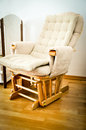 Perfect rocking chair a for children room Royalty Free Stock Photo
