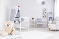 Perfect room for little sailor girl Royalty Free Stock Photo