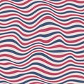 Perfect seamless striped pattern blue red Stock Image