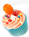Perfect sweet Cup Cake Stock Image