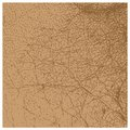 Perfect vector brown leather texture isolated Stock Images