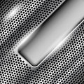 Perforated metal background Royalty Free Stock Images