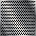 Perforated metal plate Royalty Free Stock Photography