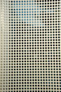 Perforated metal sheet Stock Image