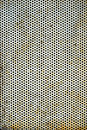 Perforated Metal Sheet Royalty Free Stock Photo