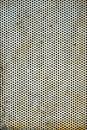 Perforated Metal Sheet Royalty Free Stock Photo