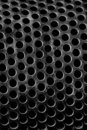 Perforated steel Royalty Free Stock Photo