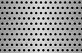 Perforation metal texture vector seamless Stock Photo