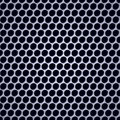Perforation seamless wallpaper closeup with metal shade Stock Photos