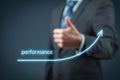 Performance increase Royalty Free Stock Photo