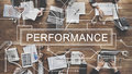 Performance skill experience accomplishment concept Stock Images
