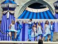 Performers at Disneyworld Royalty Free Stock Photo