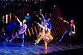 Performers skipping rope at cirque du soleil s show quidam thessaloniki greece october Stock Photos