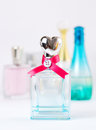 Perfume nice bottles of female Stock Photos