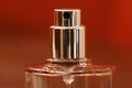 Perfume spray bottle Royalty Free Stock Photo