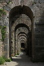 Pergamon Archway Royalty Free Stock Photography