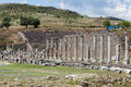 Pergamon asclepeion ancient city in turkey Stock Photo
