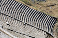 Pergamon the hellenistic theater in Stock Photography