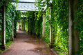 Pergola Royalty Free Stock Photo