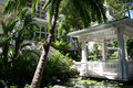Pergola at Hawiiian Hilton Royalty Free Stock Image
