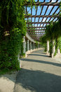 Pergola wroclaw poland in Stock Images