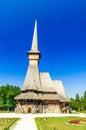 Peri monastery from Sapanta, Romania. Royalty Free Stock Photo
