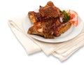Peri Peri Chicken Wings Royalty Free Stock Photo