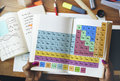 Periodic Table Chemical Chemistry Mendeleev Concept Royalty Free Stock Photo