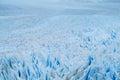 Perito Moreno blue glacier ice field Royalty Free Stock Photo