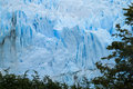 Perito Moreno blue glacier ice Royalty Free Stock Photo
