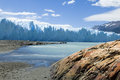 Perito Moreno Glacier in Argentina Stock Photography