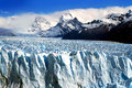 Perito moreno glacier in argentina Royalty Free Stock Photos